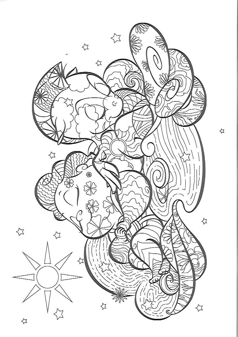 Pin By العنود العنيده On Disney Coloring Pages Cartoon Coloring Pages Disney Coloring Pages Horse Coloring Pages [ 1169 x 827 Pixel ]
