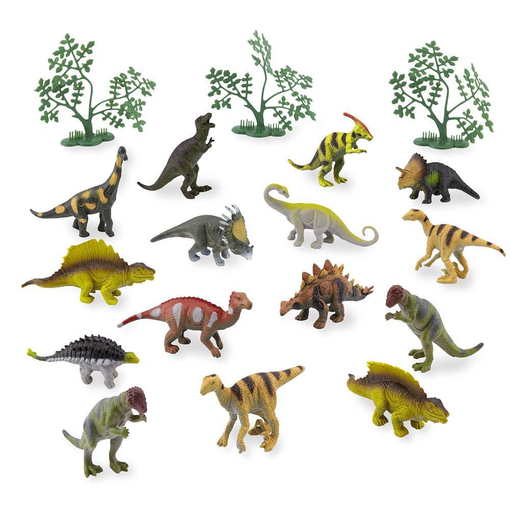 Animal Planet Head Tube Dinosaur Toys R Us Mainan Figure Dinosaurus Dino World