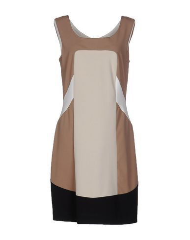 ELISA LANDRI Women s Short dress Beige 6 US  2d6c7530daeb