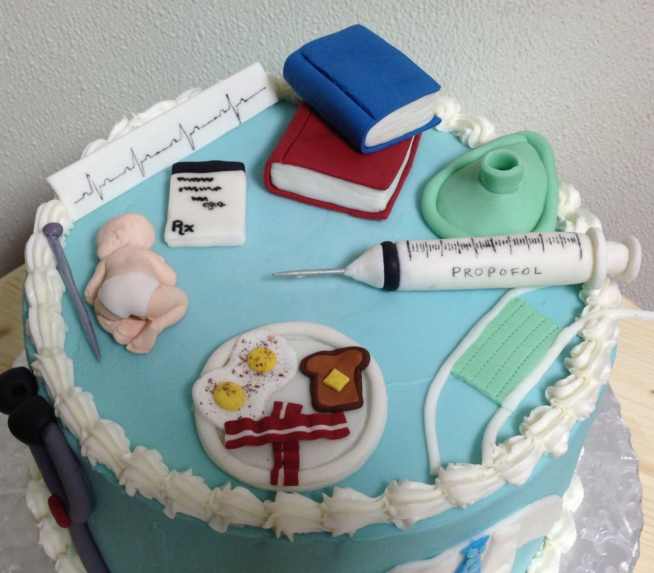 Anesthesia Retirement cake