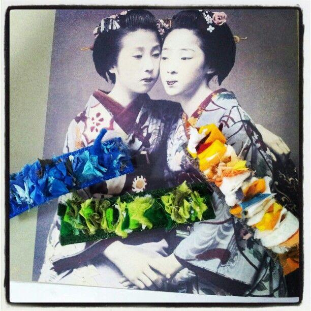 Inspiración Vintage by Susana Suárez Textiles #seide #silke #seda #seta #silk #soie