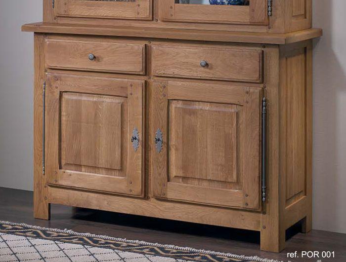 Aparador dos puertas 2 cajones de #roble, #muebles de gran calidad ...