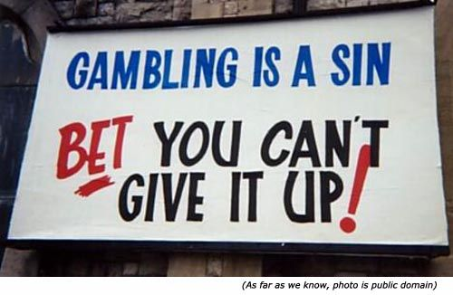 What Did The Bible Say About Going To Casino