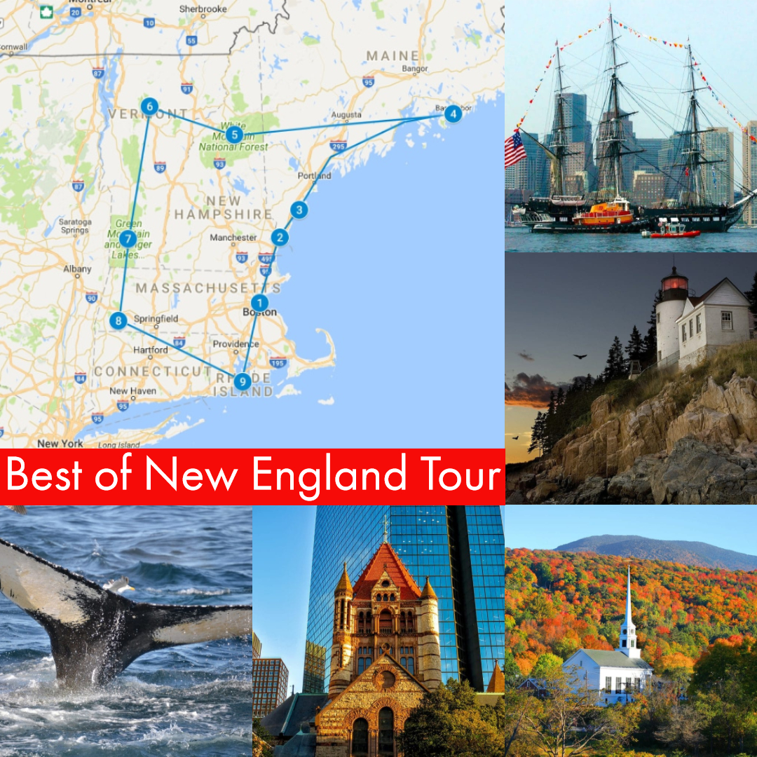 Best Of New England New england, England, Tours