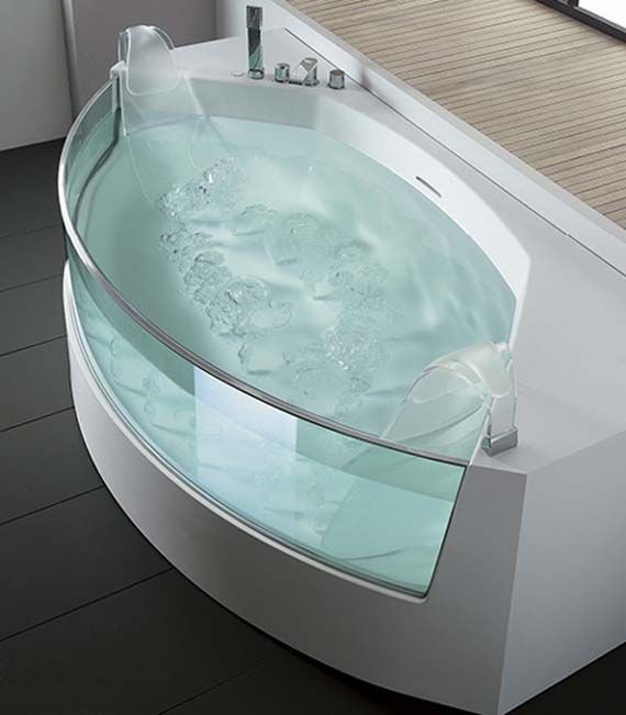 20 Beautiful and Relaxing whirlpool tub designs | Bathtubs, Tubs and ...