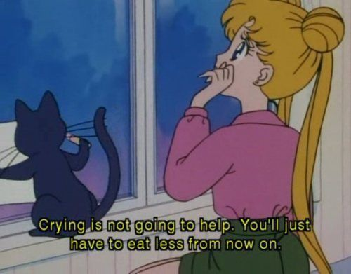 Me and sailormoon have the same problem | Disney&Animation<3 ...