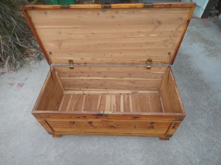 Vintage Red Cedar Chest Company The Standard
