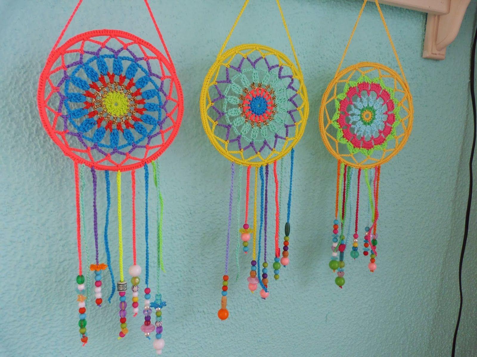 Ilona's blog crochet dream catchers