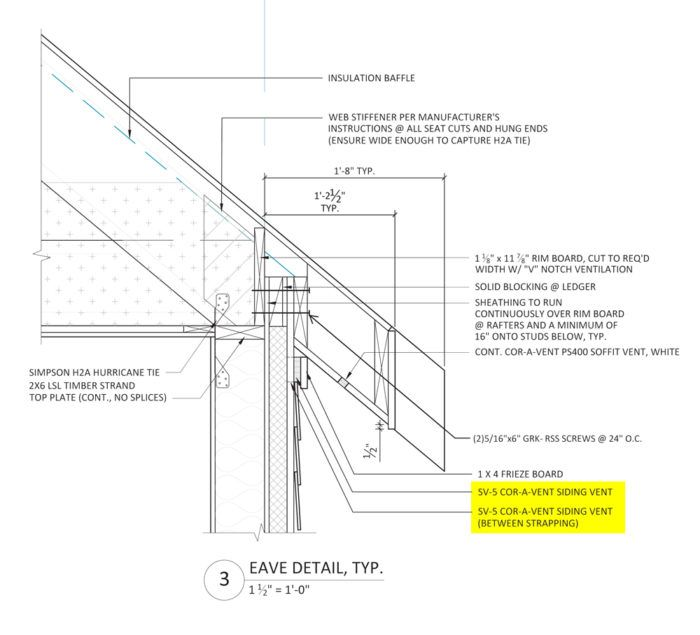 Three Reasons We Vented The Fhb House Roof Fine Homebuilding House Roof Roof Detail Roof Architecture