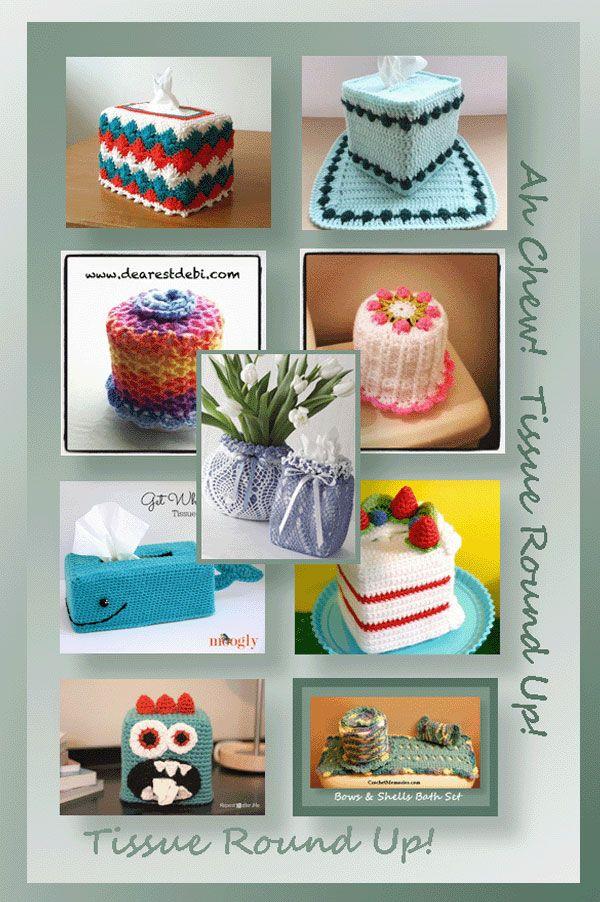 www.crochetmemories.com/blog - Tissue Round Up!