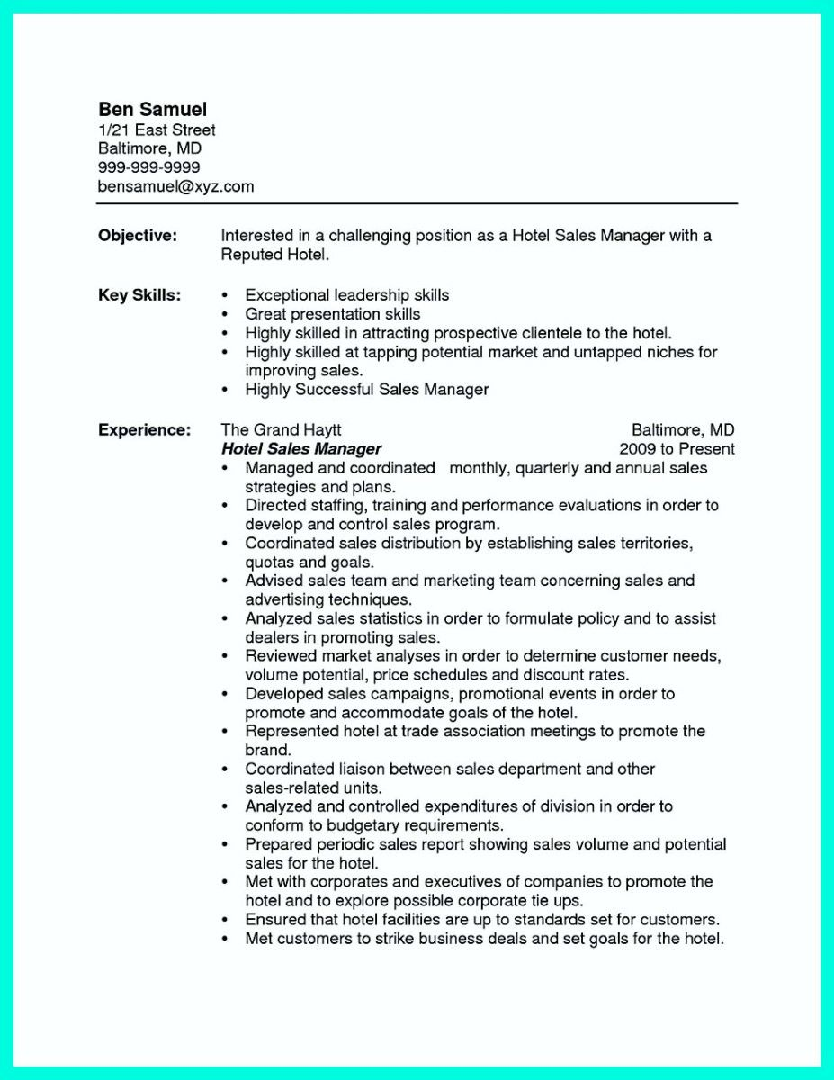 Awesome Attractive But Simple Catering Manager Resume Tricks Check