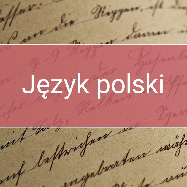 Materiały Edukacyjne Z Języka Polskiego Dla Przedszkolaków I