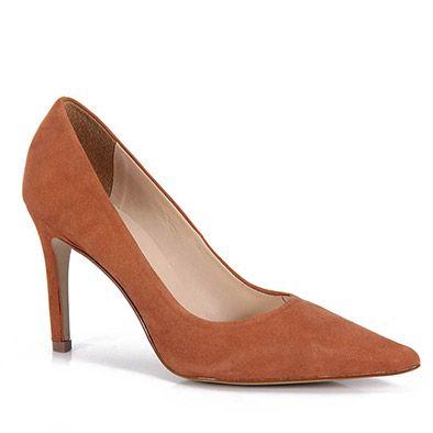 Sapato Scarpin Feminino Cesaretti - Caramelo