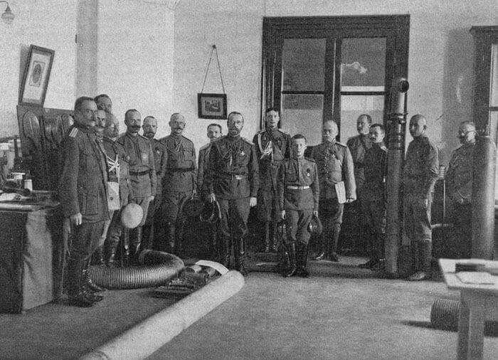 Tsar Nicholas ll of Russia with Tsarevich Alexei Nikolaevich Romanov of Russia.A♥W