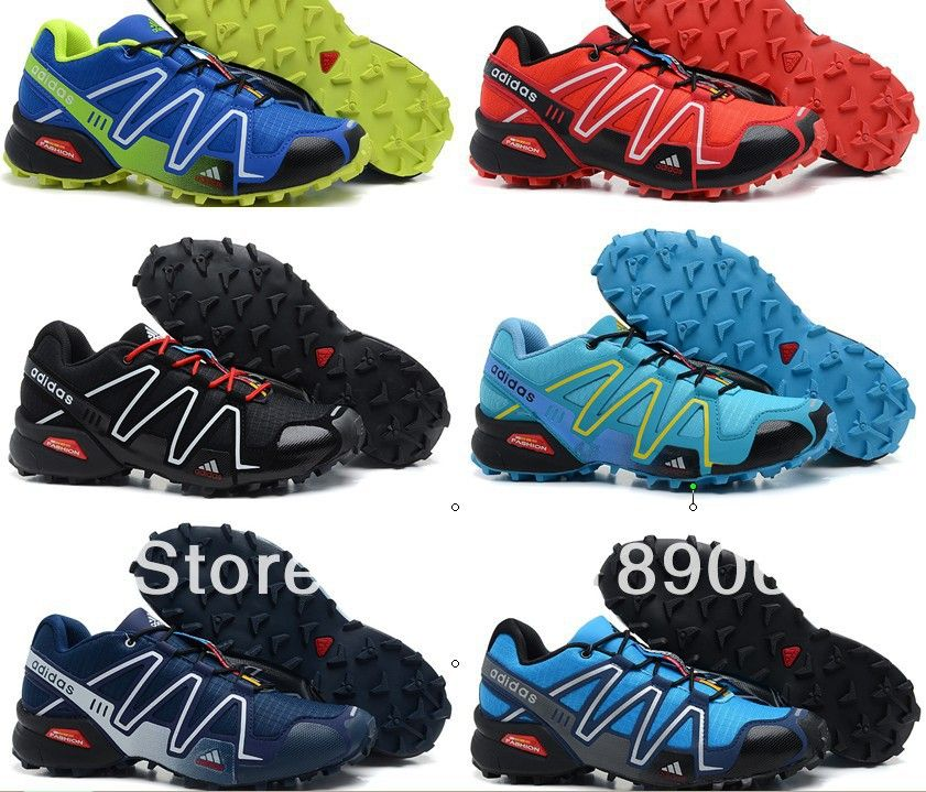 UK Shoes Store  Womens Salomon Speedcross 3 Outdoor Running Sports Training Shoes 18 Colors