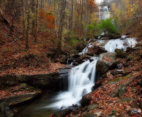 Amicalola Falls State Park In Dawsonville, Georgia.