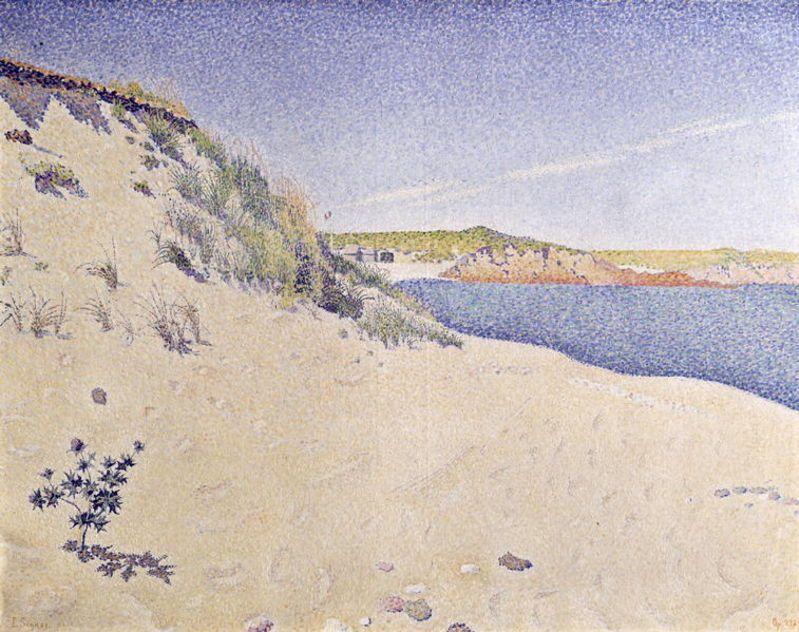 Sandy Seashore by Paul Signac
