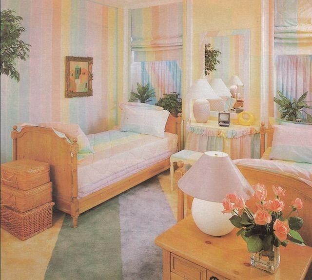 Best Defining 80S Interior Design Retro Bedrooms Home Decor 400 x 300