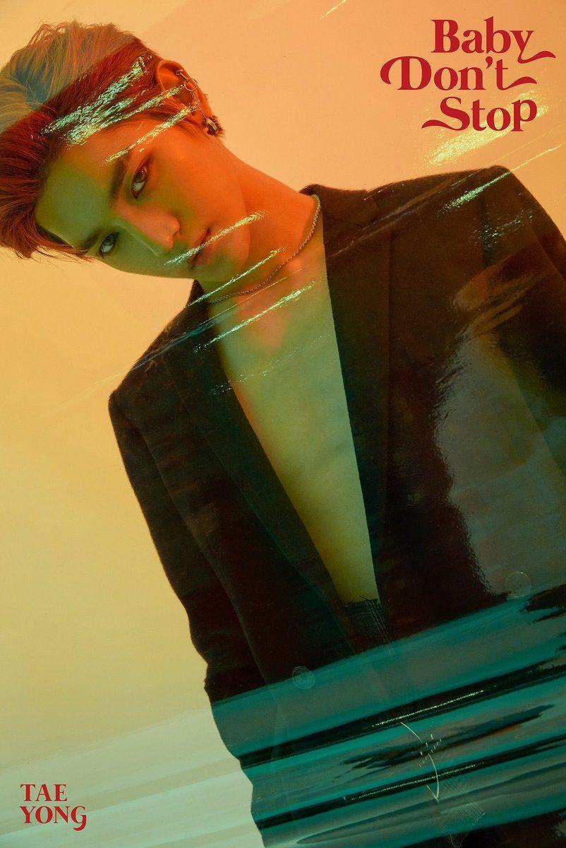 K Pop Nct U Baby Don T Stop Teaser Image Taeyong Pantip