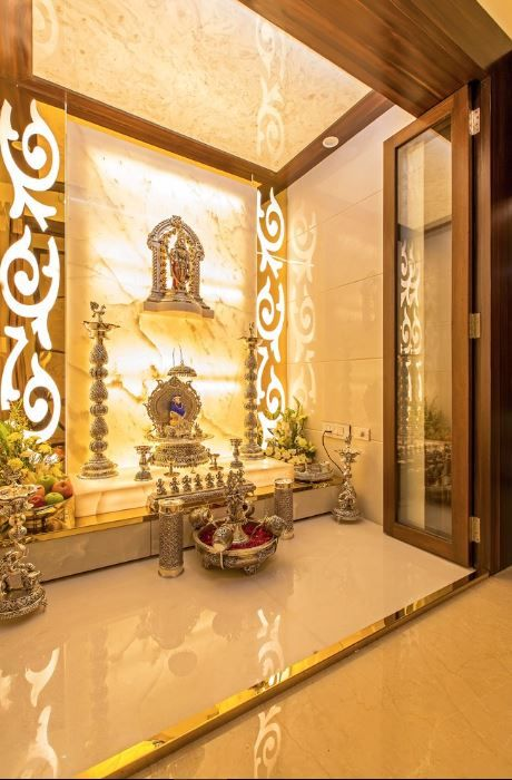 Indian Pooja Room Designs. Interior ... Part 56