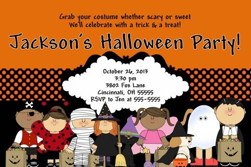 Download Halloween Birthday Invitations Ideas FREE Printable - Halloween birthday invitations party