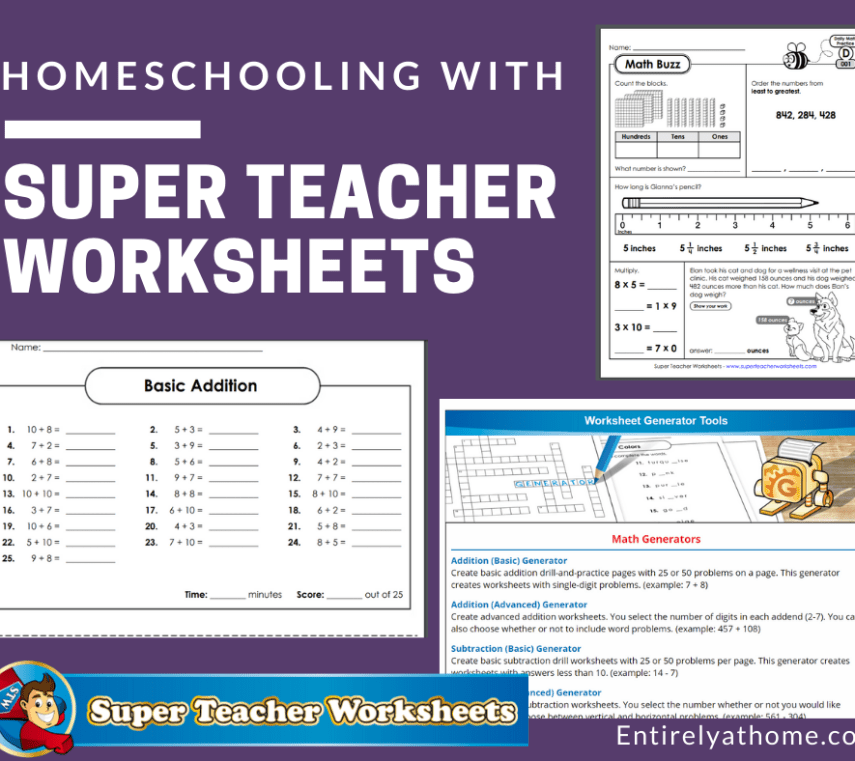 Homeschooling With Super Teacher Worksheets Entirely At Home In 2020 Super Teacher Worksheets Teacher Worksheets Reading Skills Worksheets