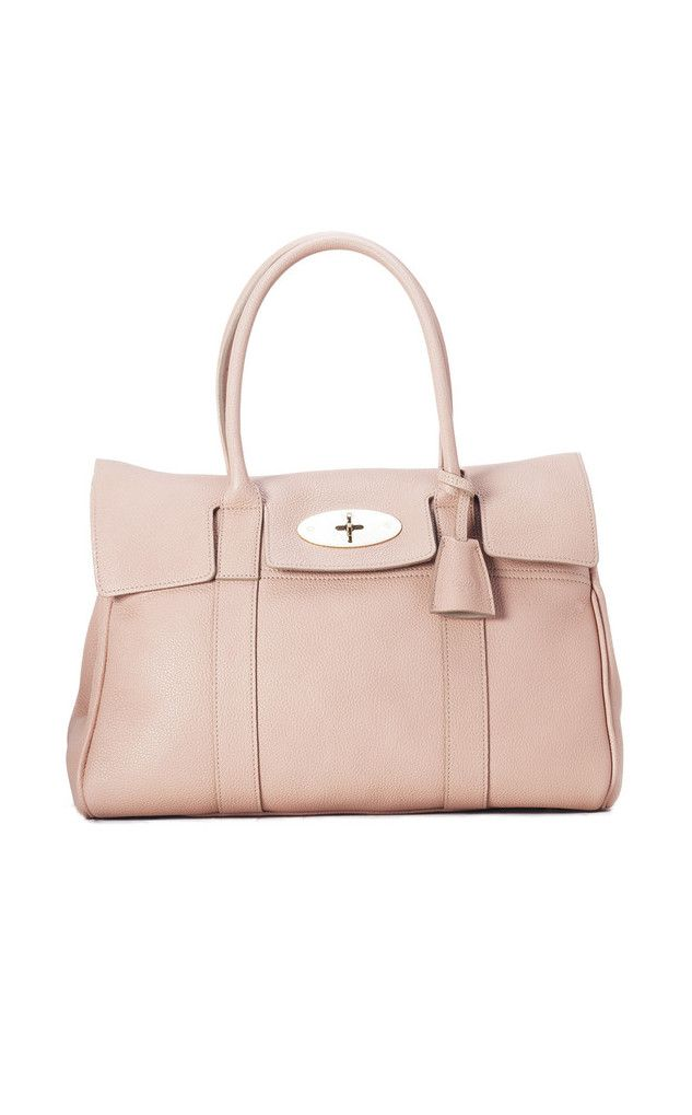 e49b83d9b4e9 MULBERRY Bayswater in Classic Grain Leather in Rose Petal is the ideal bag  if you are
