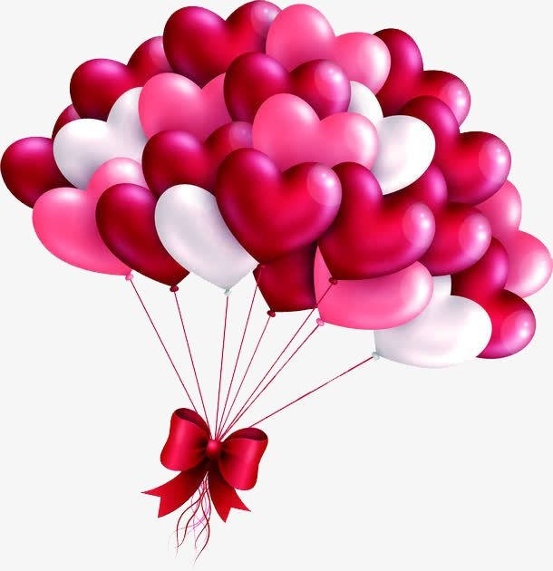 Creative Valentines Day Tanabata Creative Heart Balloon Red