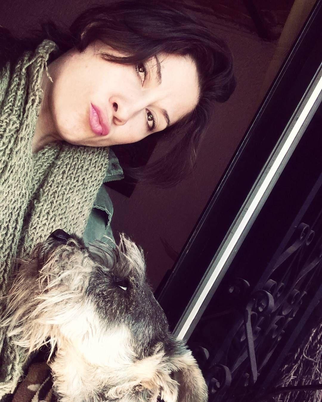 "fergie_dl: ""Mi #Melquiades y yo. #dog #doglover #dogstagram #schnauzer #adoptdontshop #sterilized #happydog"""