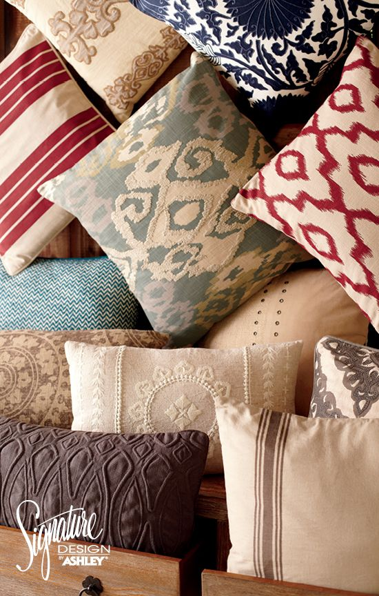 Accent Pillows Ashley Furniture For the Home