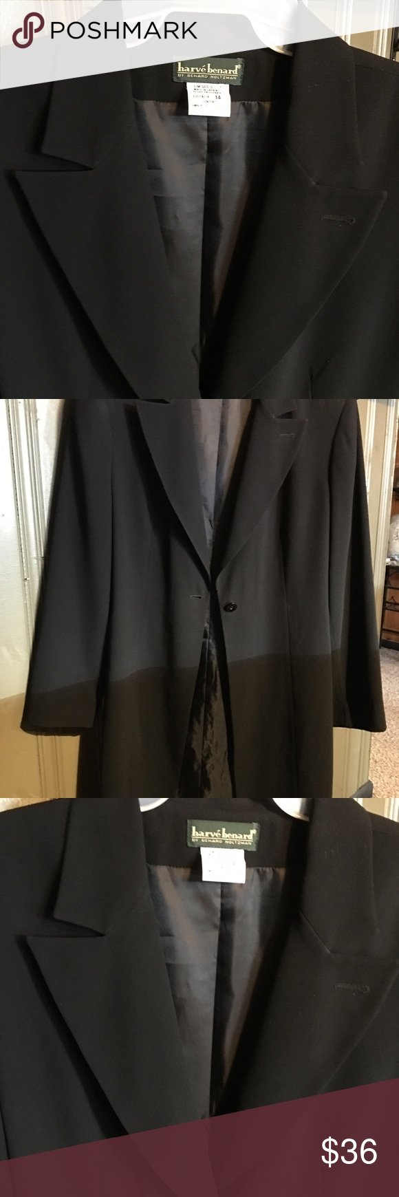 Like New Ladies Black Dress Above Knee Jacket Elegant N Very Nice To Have Dress Jacket Looks Great One Button Harv Womens Black Dress Black Dress Jackets [ 1740 x 580 Pixel ]