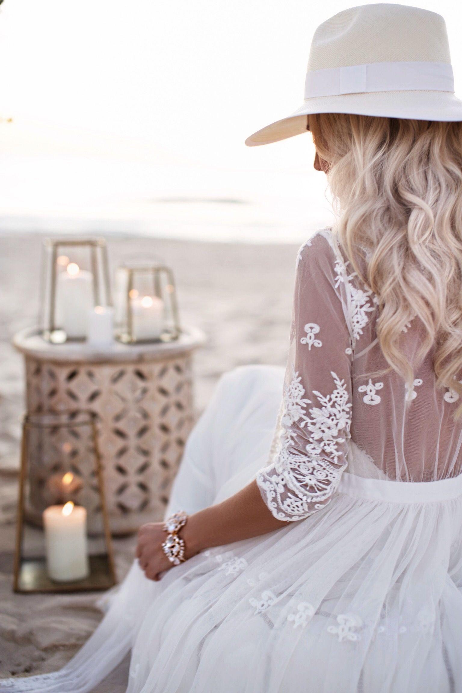 Gypsylovinlight boho beach bride fammoon pinterest hippie