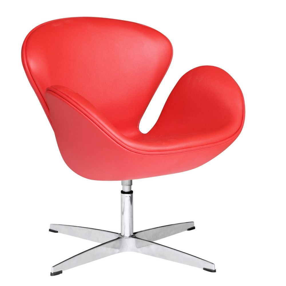 Fine Mod Imports Swan Chair Leather