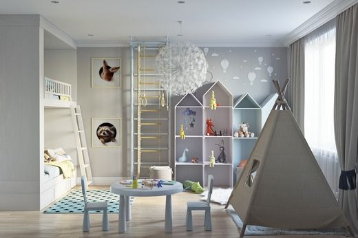 картинки по запросу детская мебель в скандинавском стиле детская