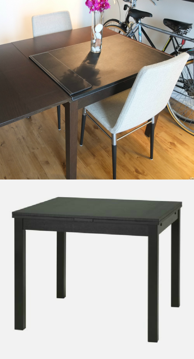 With Limited Space The Bjursta Dining Table Is A Perfect