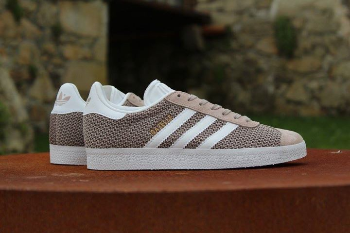 adidas gazelle w brown