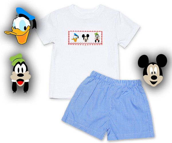 Smocked Shirts for Boys