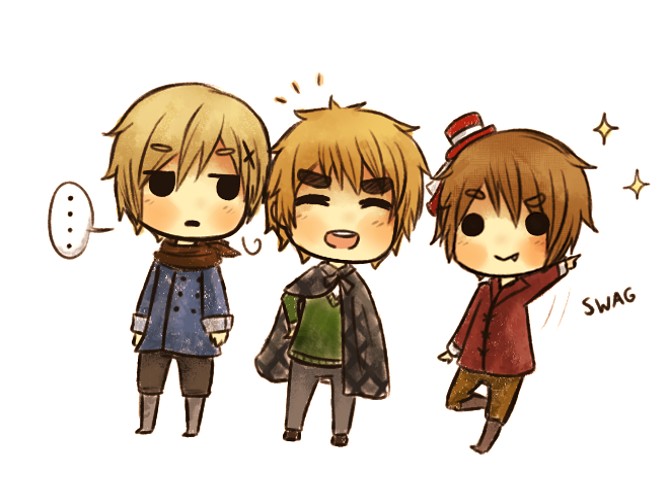 deviantART: More Like [APH] The Magic Trio Shimeji Thing by ~EpicCheshire Norway & England & Romania
