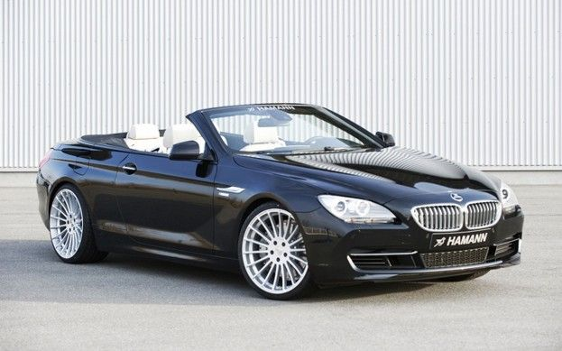 Bmw 6 Series Convertible Gets Makeover Hamann Style Bmw 6