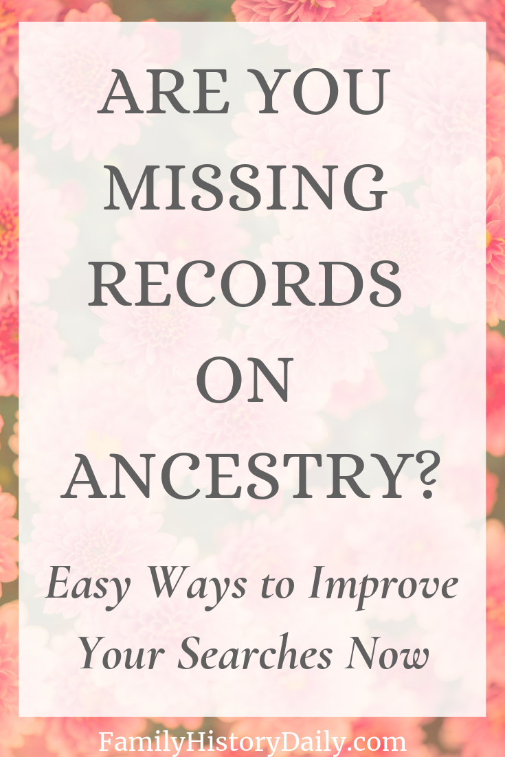 Mastering Ancestry Search: Easy Tips to Help You Uncover