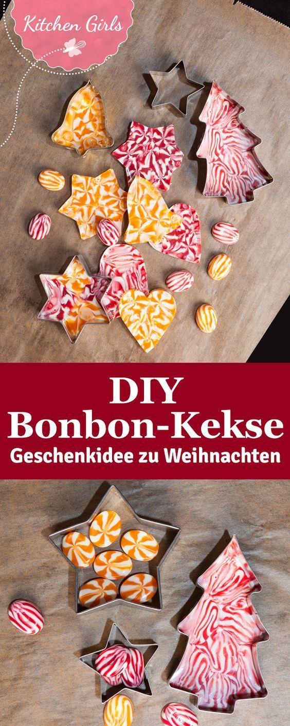Essbare Weihnachtsdekoration aus Süßigkeiten   - DIY -