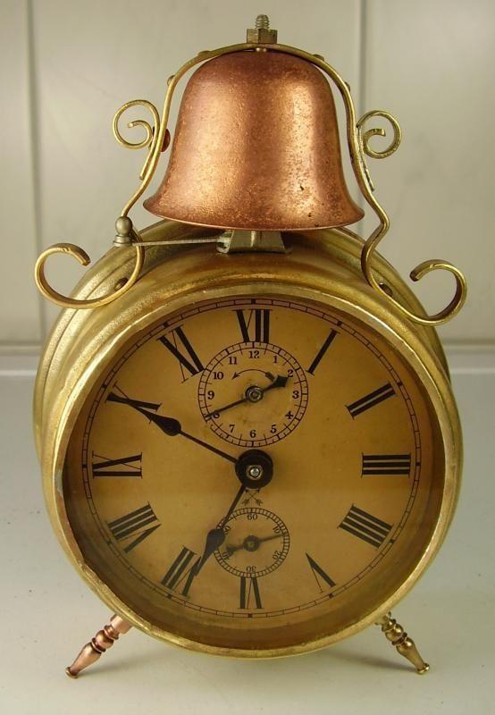 Antiker Schöner Gründerzeit Wecker UM 1890 eBay Clocks - wanduhr für küche