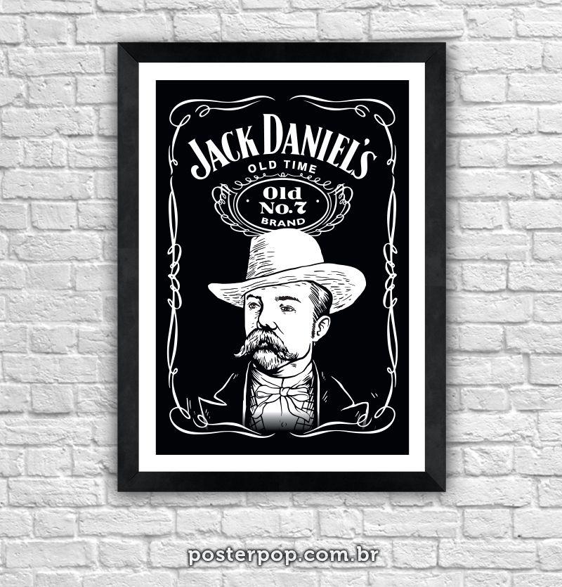 "Poster ""Jack Daniel´s - Jasper"""
