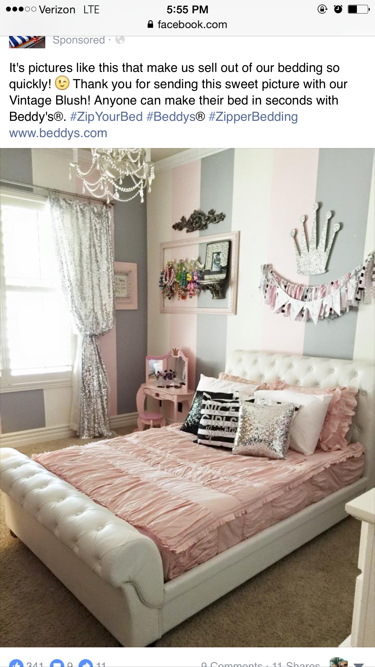 Big Bedrooms For Girls. Big Girl Rooms, Decor Maison, Girls Bedroom, Girly