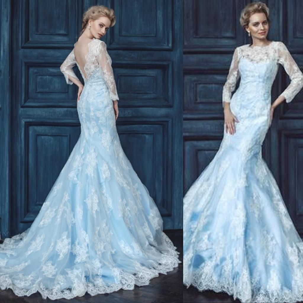 Jessica simpson wedding dress  Light Blue And White Wedding Dresses  Wedding Dress  Pinterest