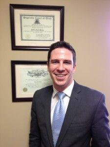 Criminal Attorney Ryan Holtan enjoys being in trial.