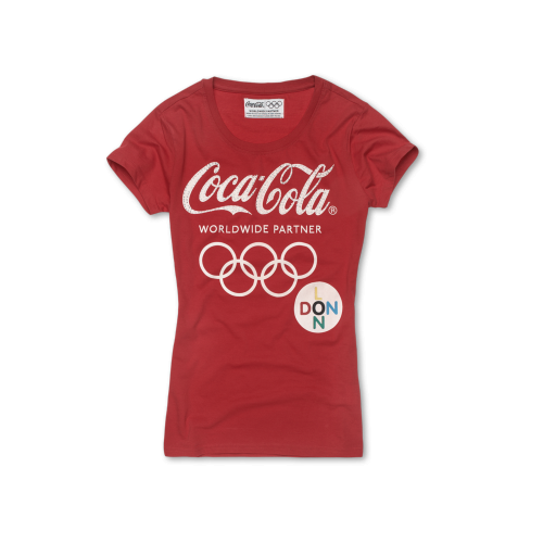 Coca-Cola t-shirt collection, for her.