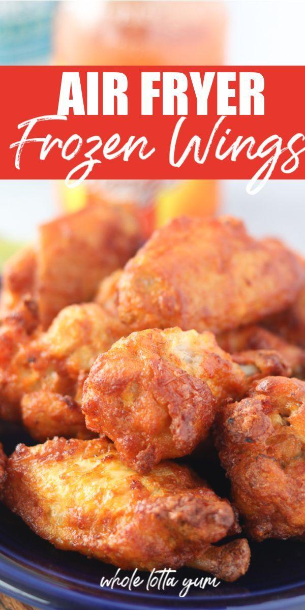 Air Fryer Chicken Wings (Frozen)