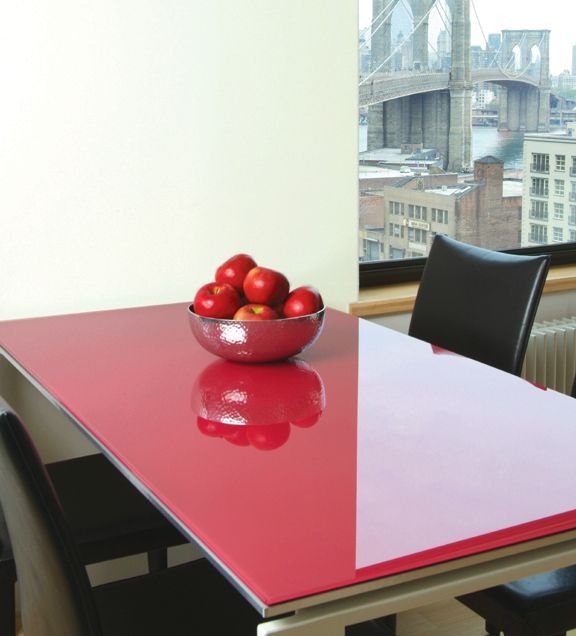 Lovely Color Coated Glass From Bendheim · Glass Table TopGlass ...
