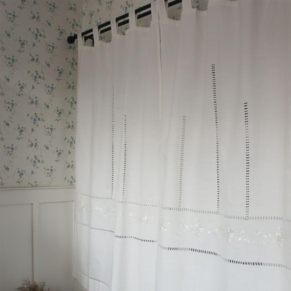 Rustic kitchen window treatments  free shipping rustic hollow white embroidered suspenders lace